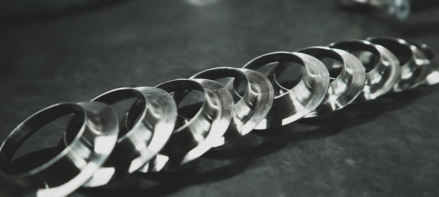 Small Stainless Rings