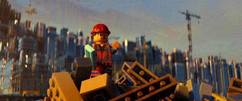 The Lego Movie Emmet construction site
